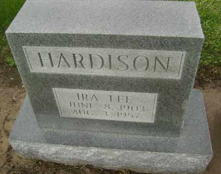 HARDISON, IRA LEE - Lawrence County, Arkansas | IRA LEE HARDISON - Arkansas Gravestone Photos