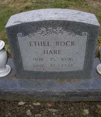 ROCK HARE, ETHEL - Lawrence County, Arkansas | ETHEL ROCK HARE - Arkansas Gravestone Photos