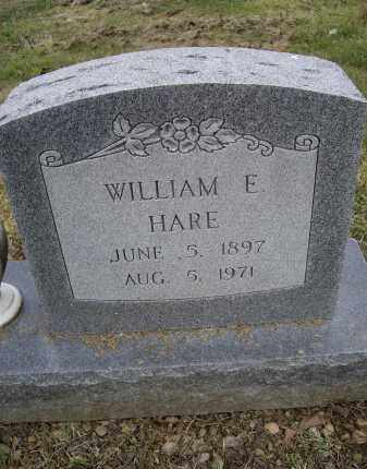 HARE, WILLIAM E. - Lawrence County, Arkansas | WILLIAM E. HARE - Arkansas Gravestone Photos