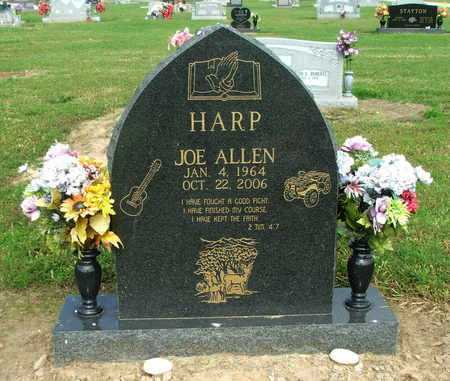 HARP, JOE ALLEN - Lawrence County, Arkansas | JOE ALLEN HARP - Arkansas Gravestone Photos