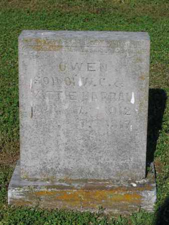HARRAL, OWEN - Lawrence County, Arkansas | OWEN HARRAL - Arkansas Gravestone Photos