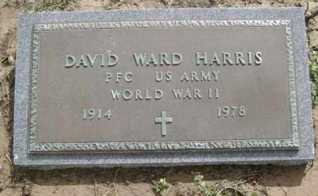 HARRIS  (VETERAN WWII), DAVID WARD - Lawrence County, Arkansas | DAVID WARD HARRIS  (VETERAN WWII) - Arkansas Gravestone Photos