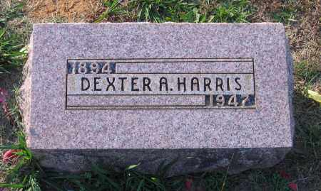 HARRIS, DEXTER AMOS - Lawrence County, Arkansas | DEXTER AMOS HARRIS - Arkansas Gravestone Photos