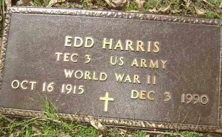 "HARRIS (VETERAN WWII), EDMUND OLIVER ""EDD"" - Lawrence County, Arkansas | EDMUND OLIVER ""EDD"" HARRIS (VETERAN WWII) - Arkansas Gravestone Photos"