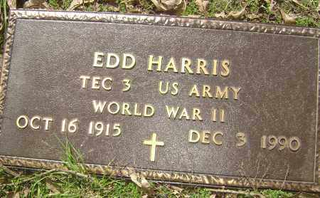 "HARRIS (VETERAN WWII), EDMUND ""EDD"" OLIVER - Lawrence County, Arkansas 