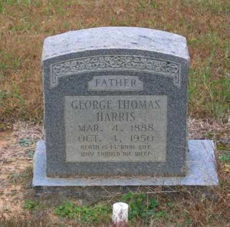 HARRIS, GEORGE THOMAS - Lawrence County, Arkansas | GEORGE THOMAS HARRIS - Arkansas Gravestone Photos