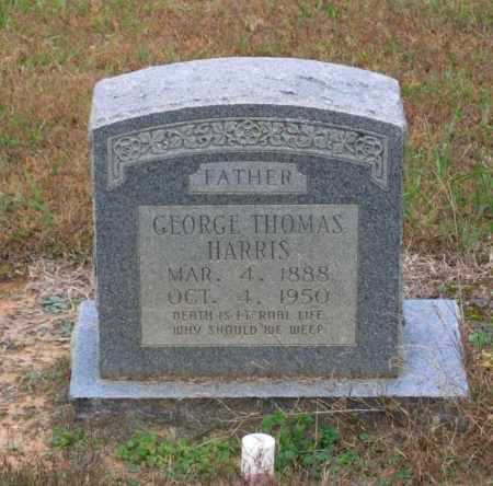 HARRIS, GEORGE THOMAS - Lawrence County, Arkansas | GEORGE THOMAS HARRIS - Arkansas Gravestone Photos