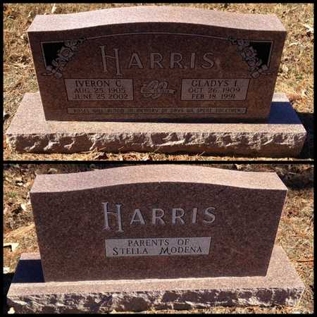 HARRIS, IVERON C - Lawrence County, Arkansas | IVERON C HARRIS - Arkansas Gravestone Photos