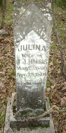 HARRIS, JULINA A. - Lawrence County, Arkansas | JULINA A. HARRIS - Arkansas Gravestone Photos