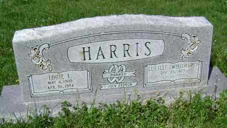 WHITMIRE HARRIS, LUCILLE - Lawrence County, Arkansas | LUCILLE WHITMIRE HARRIS - Arkansas Gravestone Photos