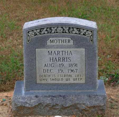 HUSKEY HARRIS, MARTHA - Lawrence County, Arkansas | MARTHA HUSKEY HARRIS - Arkansas Gravestone Photos
