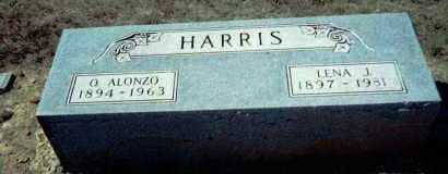 HARRIS, LENA JANE - Lawrence County, Arkansas | LENA JANE HARRIS - Arkansas Gravestone Photos