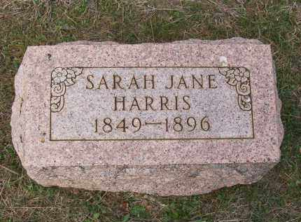 HARRIS, SARAH JANE - Lawrence County, Arkansas | SARAH JANE HARRIS - Arkansas Gravestone Photos