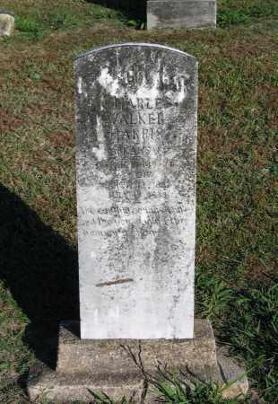 HARRIS (VETERAN WWI), CHARLES WALKER - Lawrence County, Arkansas | CHARLES WALKER HARRIS (VETERAN WWI) - Arkansas Gravestone Photos