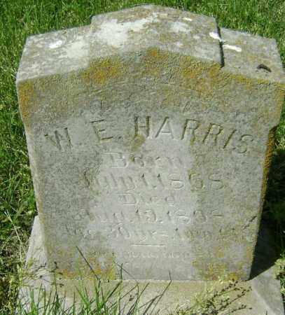 HARRIS, W. E. - Lawrence County, Arkansas | W. E. HARRIS - Arkansas Gravestone Photos