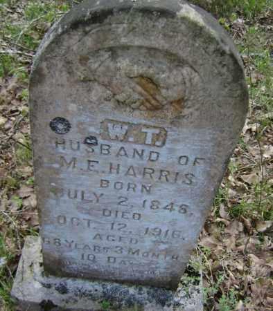 "HARRIS, WILLIAM THOMAS ""W. T."" - Lawrence County, Arkansas   WILLIAM THOMAS ""W. T."" HARRIS - Arkansas Gravestone Photos"