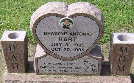 HART, DEWAYNE ANTONIO - Lawrence County, Arkansas | DEWAYNE ANTONIO HART - Arkansas Gravestone Photos