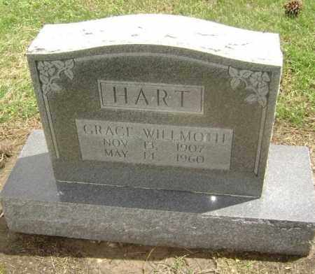 WILLMOTH HART, GRACE - Lawrence County, Arkansas | GRACE WILLMOTH HART - Arkansas Gravestone Photos