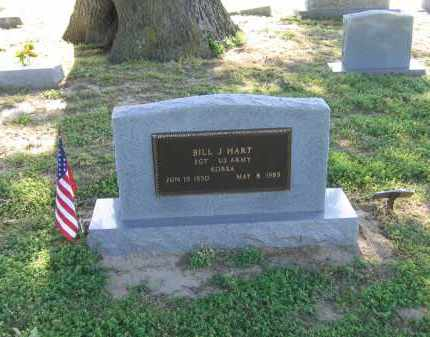 HART (VETERAN KOR), BILL JOHN - Lawrence County, Arkansas | BILL JOHN HART (VETERAN KOR) - Arkansas Gravestone Photos