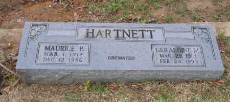 HARTNETT, GERALDINE M. - Lawrence County, Arkansas | GERALDINE M. HARTNETT - Arkansas Gravestone Photos
