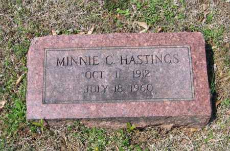 HASTINGS, MINNIE C. - Lawrence County, Arkansas | MINNIE C. HASTINGS - Arkansas Gravestone Photos