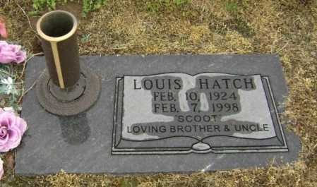 "HATCH, LOUIS ""SCOOT"" - Lawrence County, Arkansas 