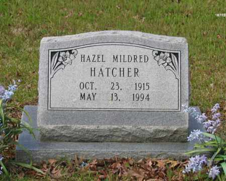 HATCHER, HAZEL MILDRED - Lawrence County, Arkansas | HAZEL MILDRED HATCHER - Arkansas Gravestone Photos