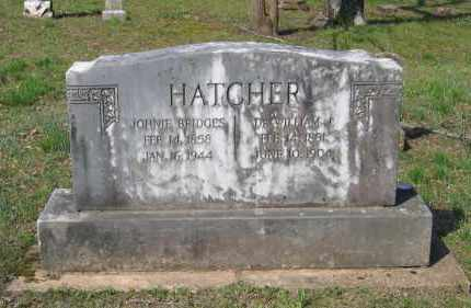 "BRIDGES HATCHER, SUSAN VIRGINIA ""JOHNNIE"" - Lawrence County, Arkansas 