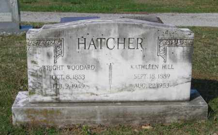 HILL HATCHER, SARAH KATHLEEN - Lawrence County, Arkansas | SARAH KATHLEEN HILL HATCHER - Arkansas Gravestone Photos