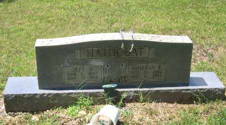 "HATHCOAT, JEFFERSON MARION ""JEFF M."" - Lawrence County, Arkansas 