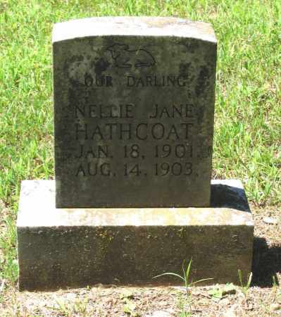 HATHCOAT, NELLIE JANE - Lawrence County, Arkansas | NELLIE JANE HATHCOAT - Arkansas Gravestone Photos