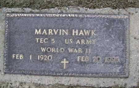 HAWK  (VETERAN WWII), MARVIN - Lawrence County, Arkansas | MARVIN HAWK  (VETERAN WWII) - Arkansas Gravestone Photos
