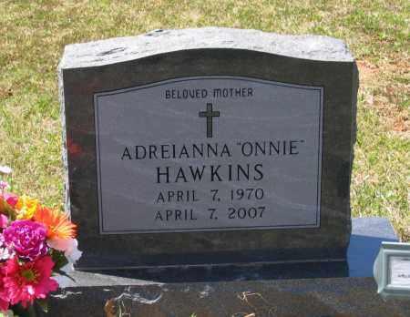 "STURGEON HAWKINS, ADREIANNA GAYLE ""ONNIE"" - Lawrence County, Arkansas | ADREIANNA GAYLE ""ONNIE"" STURGEON HAWKINS - Arkansas Gravestone Photos"
