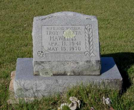 HAWKINS, TROY COLETA - Lawrence County, Arkansas | TROY COLETA HAWKINS - Arkansas Gravestone Photos