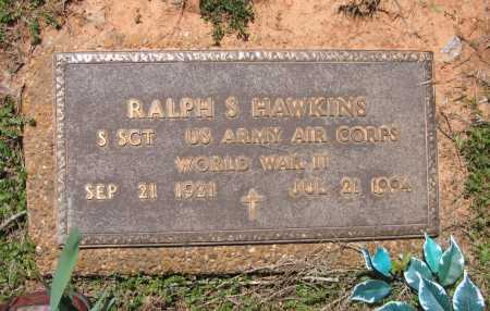 HAWKINS (VETERAN WWII), RALPH S - Lawrence County, Arkansas | RALPH S HAWKINS (VETERAN WWII) - Arkansas Gravestone Photos