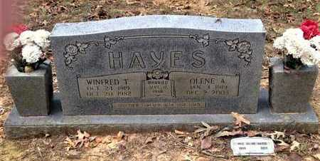 HAYES, WINFRED T. - Lawrence County, Arkansas | WINFRED T. HAYES - Arkansas Gravestone Photos
