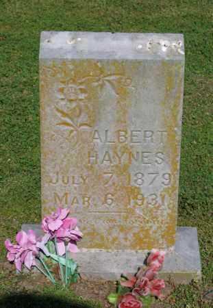 HAYNES, ALBERT - Lawrence County, Arkansas | ALBERT HAYNES - Arkansas Gravestone Photos