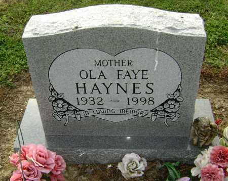 HAYNES, OLA FAYE - Lawrence County, Arkansas | OLA FAYE HAYNES - Arkansas Gravestone Photos