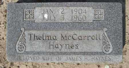 HAYNES, THELMA MARTHA - Lawrence County, Arkansas | THELMA MARTHA HAYNES - Arkansas Gravestone Photos