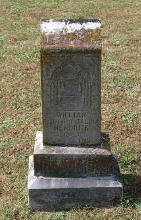 HEADRICK, WILLIAM M. - Lawrence County, Arkansas | WILLIAM M. HEADRICK - Arkansas Gravestone Photos