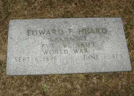 HEARD  (VETERAN WWI), EDWARD FRANKLIN - Lawrence County, Arkansas | EDWARD FRANKLIN HEARD  (VETERAN WWI) - Arkansas Gravestone Photos