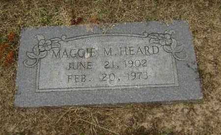 "HEARD, MARGARET M. ""MAGGIE"" - Lawrence County, Arkansas 