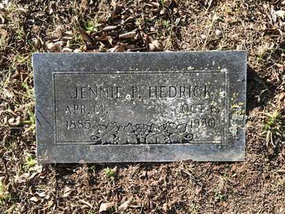 HEDRICK, JENNIE PEARL - Lawrence County, Arkansas | JENNIE PEARL HEDRICK - Arkansas Gravestone Photos