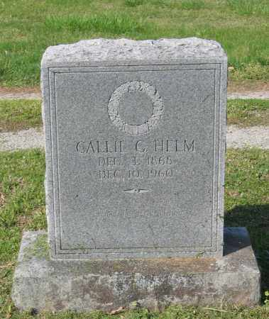 PARSLEY HELM, CALLIE C. - Lawrence County, Arkansas | CALLIE C. PARSLEY HELM - Arkansas Gravestone Photos