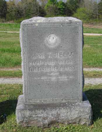 HELM, JOHN T. - Lawrence County, Arkansas | JOHN T. HELM - Arkansas Gravestone Photos