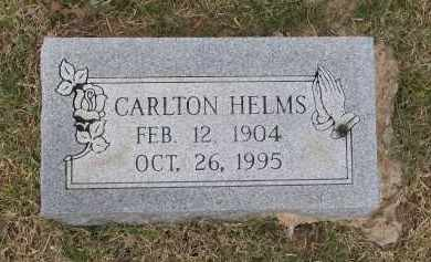 HELMS, CARLTON - Lawrence County, Arkansas | CARLTON HELMS - Arkansas Gravestone Photos