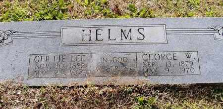 HELMS, GERTRUDE GRACE - Lawrence County, Arkansas | GERTRUDE GRACE HELMS - Arkansas Gravestone Photos