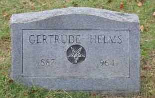 HELMS, GERTRUDE - Lawrence County, Arkansas | GERTRUDE HELMS - Arkansas Gravestone Photos