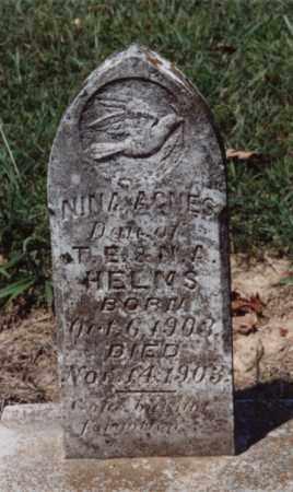 HELMS, NINA AGNES - Lawrence County, Arkansas | NINA AGNES HELMS - Arkansas Gravestone Photos