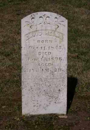 HELMS, REV. (VETERAN CSA), DAVID B. - Lawrence County, Arkansas | DAVID B. HELMS, REV. (VETERAN CSA) - Arkansas Gravestone Photos